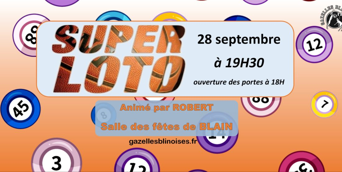 Loto Robert le samedi 28 septembre