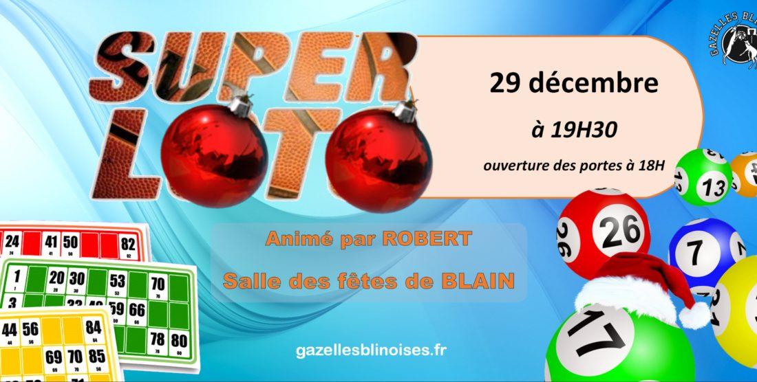 Super Loto de Noël le 29 décembre