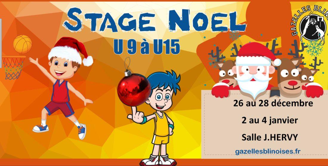 Stage Noël U9 à U15
