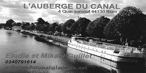 Carte Auberge du Canal
