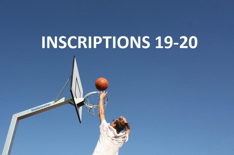 Inscriptions 2019-2020 : RDV le 7 septembre