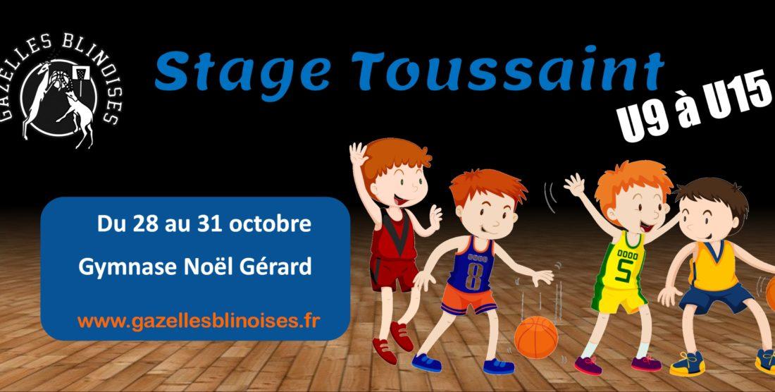 Stages basket vacances Toussaint