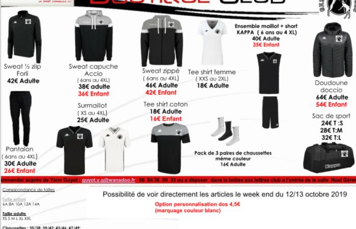 boutique 2019-2020