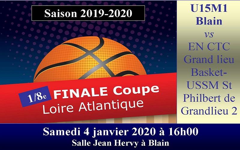 1/8èmes de finale de la coupe de Loire-Atlantique