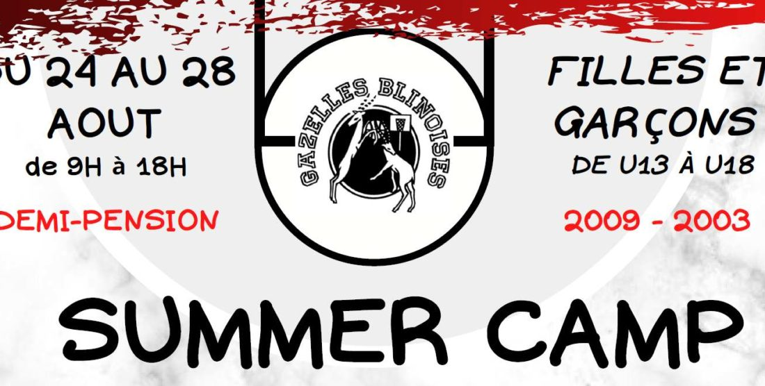 SUMMER Camp du 24 au 28 août 2020