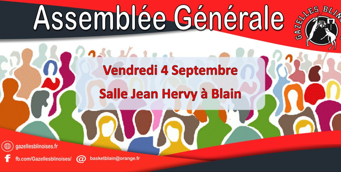 Assemblée générale 2020 – 4 septembre