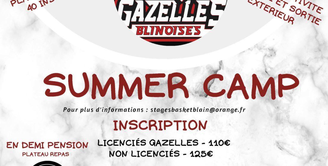Summer CAMP du 16 au 20 août