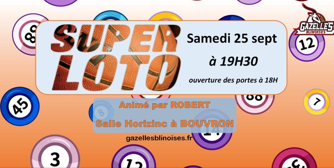 Super Loto – Samedi 25 septembre